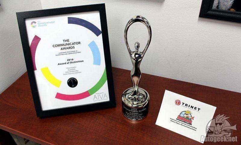 Silver Communicator Award