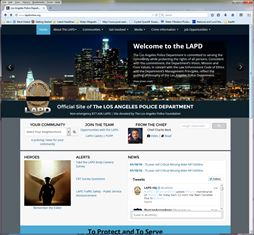 LAPD - Los Angeles Police Department