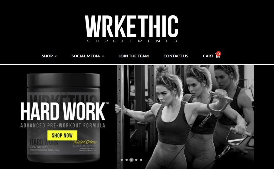 WRKETHIC Homepage